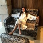 Donegal to Galway - Lough Eske Castle Hotel & Spa, Spa Solis, thermal stone chair