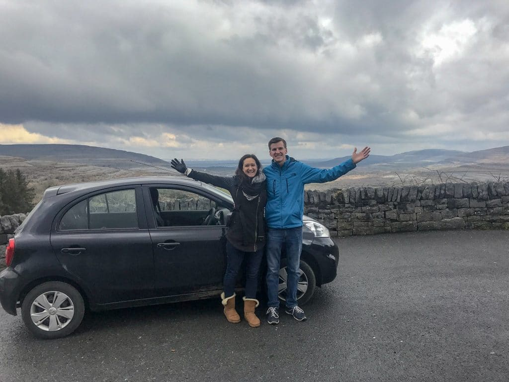 The best way to see Ireland is by renting a car and taking a road trip!