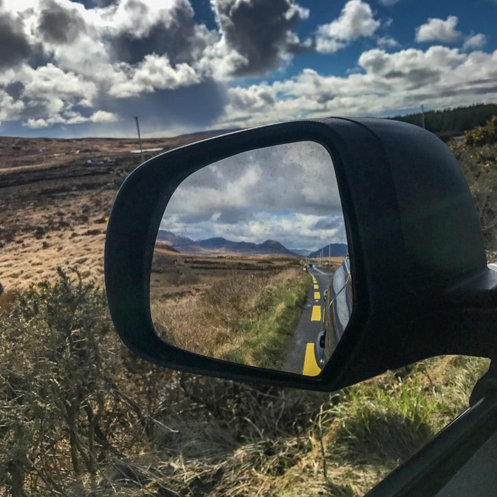 Beautiful views everywhere we look during our Ireland road trip.