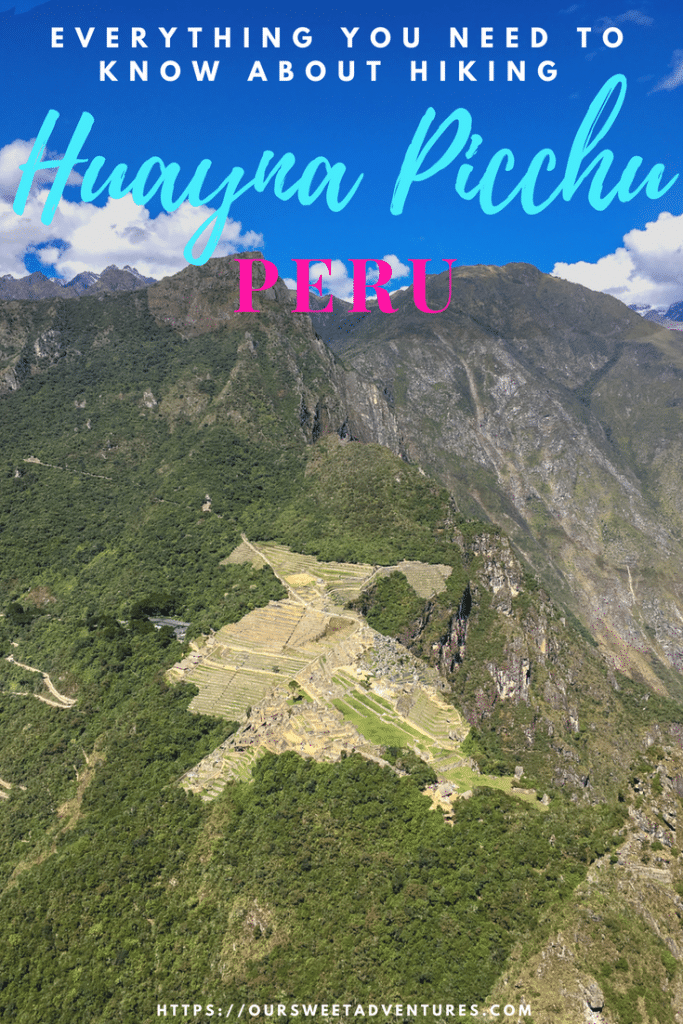 Hiking Huayna Picchu rewards you with incredible views of Machu Picchu. If you plan to hike to the top, we highly recommend you read our post that has everything you need to know. Though it is a wonderful hike, it is also quite dangerous. #Hiking #Huayna Picchu #Peru #MachuPicchu