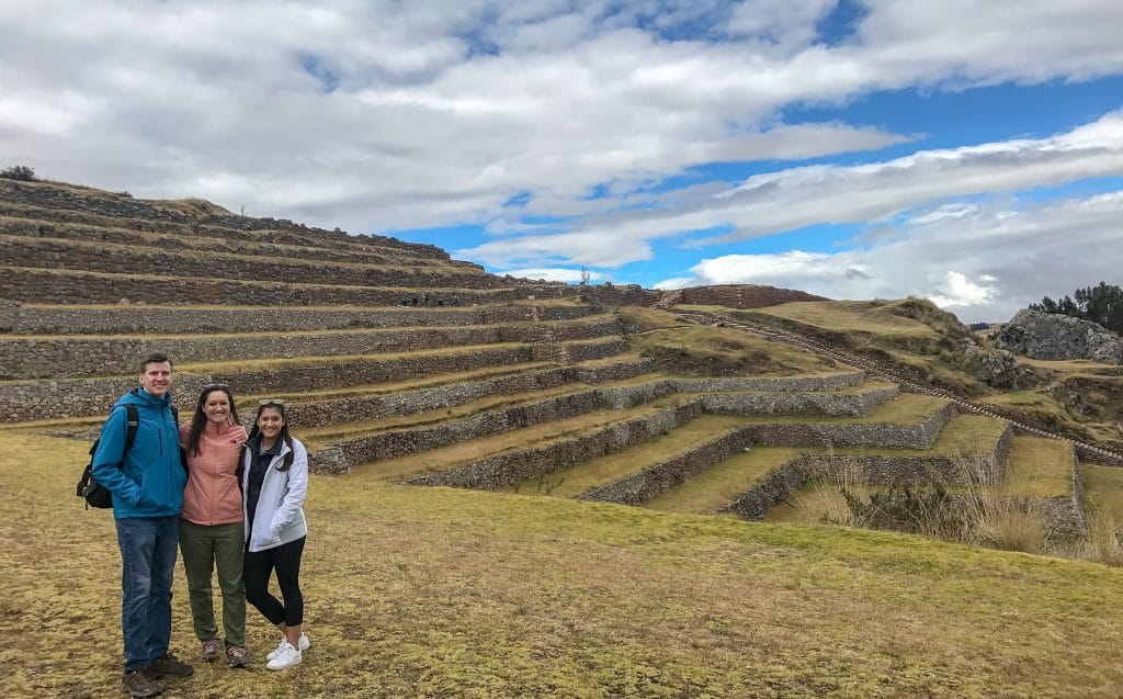 Enjoying our Sacred Valley private tour