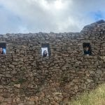 exploring the Inca fortress in Pisac, Pery