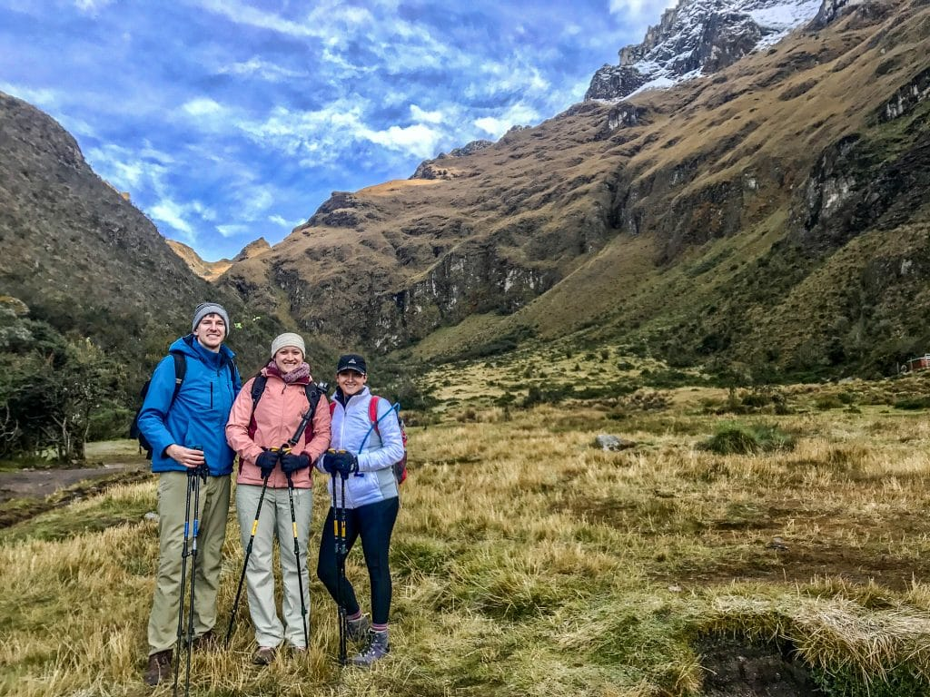 It can get very cold, so don't forget jackets and head gear when packing for the Inca trail.