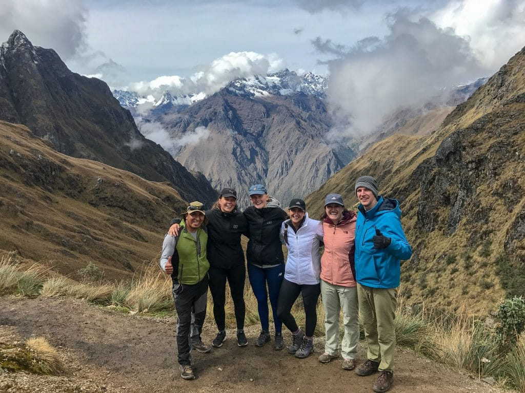 Training for the Inca trail was all about surviving Dead Women's Pass