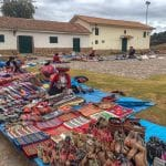 Chincheros market in Sacred Valley