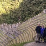 Winay Wayna - ruins along the Inca trail