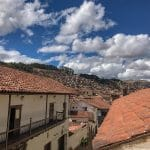 Great views from a boutique hotel in Cusco.