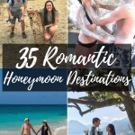Looking for a romantic honeymoon destination? Look no further, we have 35 perfect honeymoon destinations that you are bound to fall in love with. From relaxing beaches, to adventures in Africa, we have several stories and destinations to share from travel couples first hand experiences. #Honeymoon #Romantic #TravelCouple