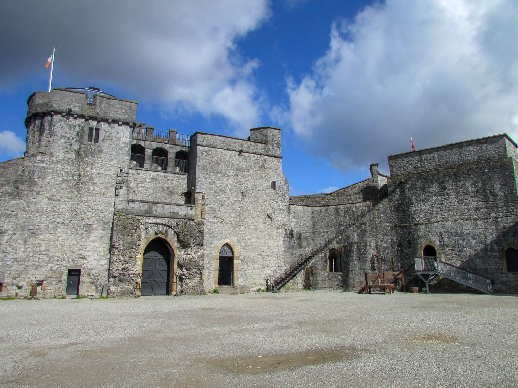 King John's Castle is located in Limerick City and offers visitors a great interactive and informative exhibit. You can also climb up to one of the battlements and get a great 360 panorama view of the city.
