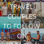 Today, people plan their vacations based off of what they see on Instagram more than ever. As a travel couple on Instagram, we can attest to that. These travel couples inspire us every day to love and wander the world together! I am sure they will inspire you, so check them out and give them a follow.