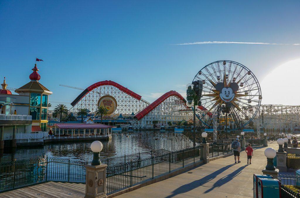 Pixar Pier at California Adventure Park is both stunning and fun!