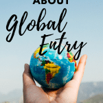 Do not wait in long lines at U.S. Customs and Border Control anymore! Travel smart with Global Entry. Global Entry is the best way to travel into the United States. Read everything you need to know about this travel program and why we have been raving about it for years. #TravelTips #TravelHack #GlobalEntry #USATravel