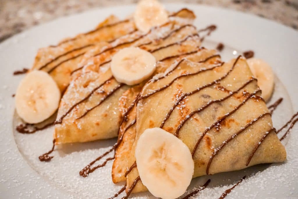 Sweet Crepes With Banana And Nutella Our Sweet Adventures