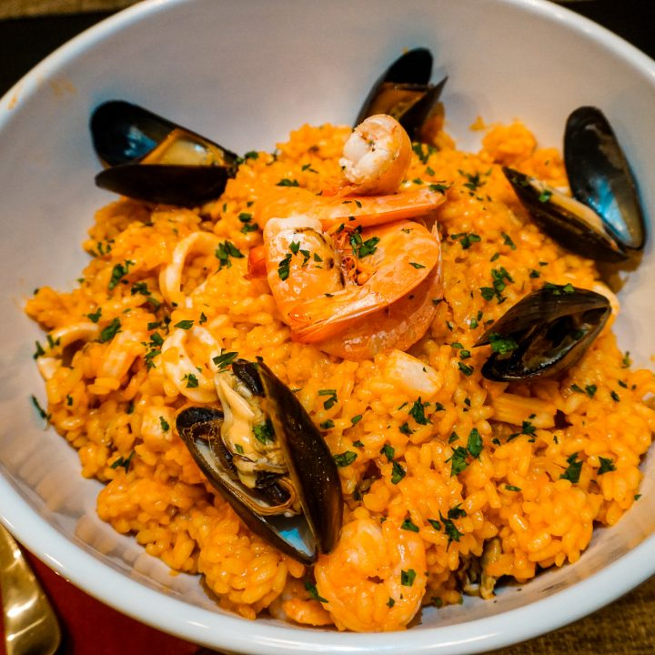 Authentic Seafood Risotto